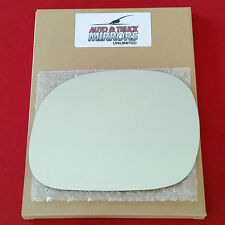 NEW Mirror + ADHESIVE 97-03 F150 EXPEDITION NAVIGATOR Driver Left Side MANUAL
