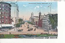 Pennsylvania Avenue  from Treasuary Steps   Washington D.C. DB Postcard 3117