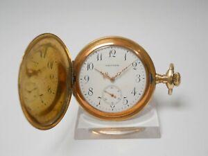WALTHAM EXPORT 1897 SAVONNETTE, žepna ura - pocket watch -Taschenuhr   #21-
