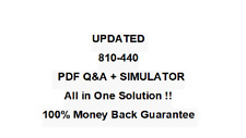 810-440 Cisco Business Architecture Analyst Exam QA PDF&Simulator