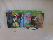 Leapfrog Tag Reading System  Childrens Touch Technology Talking Words 6 Books +