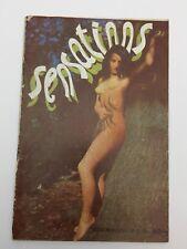 Sensations Rivista Erotica Oct 1940, Surrealismo, Fumetto Erotico Boccasile???