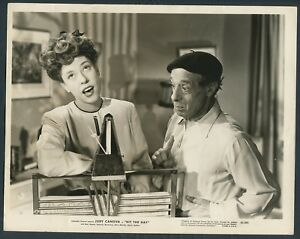 JUDY CANOVA LUIS ALBERNI in Hit The Hay '45 MUSIC STANDARD