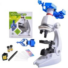 1200X Children Biological Microscope Science Lab Set w/ Mount Education Toy Kits