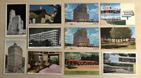 Lot of 11 Souvenir Vintage Postcards Hotels Motels Atlantic Cincinnati Salt Lake