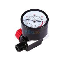 """Mini 1/4"""" Manometro Regolatore di pressione per pistole a spruzzo Aerografo"""