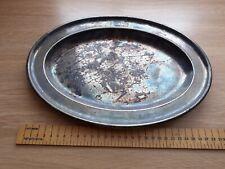 More details for lner pewter silver plate - walker & hall sheffield (free postage)