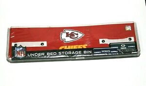 """Franklin NFL Under Bed Storage Bin Collapsible 22x12x6.5"""" Various Teams New"""