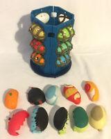 Hero Eggs Mega Headz Bundle x 8 With Monster Tower Giochi Preziosi