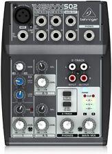 Behringer Xenyx 502 Premium 5-Input 2-Bus Mixer w/ Xenyx Mic Preamp & British Eq