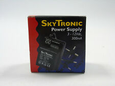 Skytronic AC-DC Adapter UK Plug Universal Power Supply 300mA 3-12V Output Boxed