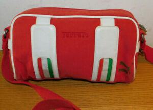 SAC à main PUMA FERRARI  ITALIA ITALIE besace SACOCHE Tasche BAG RED ROUGE ROT