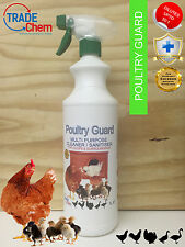 Poultry Guard - Poultry House and surroundings Disinfectant and Cleaner 1 Litre