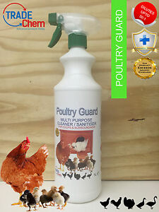 Poultry Guard Chicken House and Surroundings Anti-Bac Cleaner 1 Litre