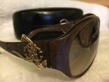 Roberto Cavalli Sunglasses URANO 396s Colour 450 Brown Gold + Original Case