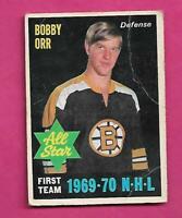 1970-71 OPC # 236 BRUINS BOBBY ORR  AS GOOD CARD (INV# D8082)