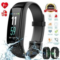 Smart Band Watch Bracelet Wristband Fitness Blood Pressure Heart Rate Tracker US
