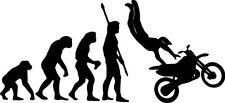 EVOLUTION Motorcycle/Motorbike Biker Sticker/Decal  *Colour & Size Choice