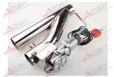 """2"""" 50.8mm Exhaust Downpipe Testpipe Catback E Electric Cutout Kit Switch Control"""
