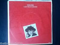 "VINYL 7"" SINGLE - A BOY FROM NOWHERE - TOM JONES - OLE1"