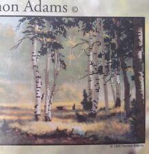 "Hermon Adams Candamar Cross Stitch Kit Morning Song 18""x9"" Native American Horse"