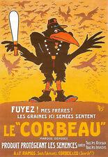 ART POSTER-Le Corbeau-Francese Pubblicità A3 stampa
