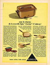 PUBLICITE  1967    AUBECQ   MITOUNE  casseroles