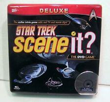 Star Trek Scene It? Deluxe DVD Game-Collector Ed Tin