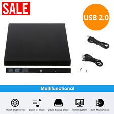 USB 2.0 SATA Hard Drive Disk Enclosure External Laptop Slim Drive Case CD IDE BP