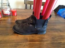 Mossimo Black Ankle Boots Women's Size 8 M