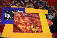 PAUL Mc CARTNEY BEATLES LP FLOWERS IN THE  DIRT ORIG ITALY 1989 EX+ INNER INSERT