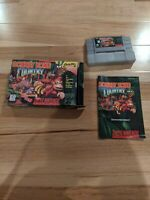 Donkey Kong Country 1 Super Nintendo SNES Box Instructions Game Tested