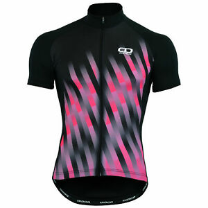 Didoo Women's Cycling Jersey Short-Sleeve Full Zipper  with 3 Rear Pocket