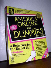 America Online for Dummies by John Kaufeld (2000, Paperback,4th Edition)