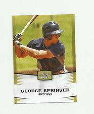 2012 LEAF DRAFT GOLD HOUSTON ASTROS GEORGE SPRINGER RC NM-MT