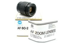 Minolta af 80-200mm 1:4. 5-5.6 Compact travel tele zoom sony a-Mount/nos