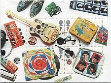 GB Sellos 2007 'el álbum de los Beatles cubre's SG MS2692-Fine Used