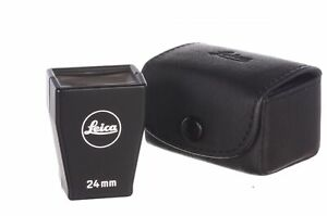 Leica 24mm finder with case, 6 month guarantee