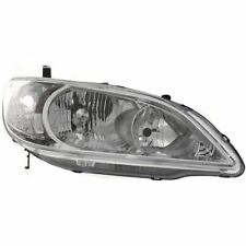 New Headlight (Passenger Side) for Honda Civic HO2503121 2004 to 2005