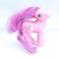 2002 MY LITTLE PONY SKYWISHES PINK PURPLE HAIR BUTTERFLY KITE G3