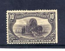 US Stamps - #290 - MH HR - 10 cent Trans-Mississippi Expo Issue - CV $140