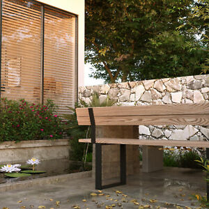 Sitzbank Rückenlehnenhalter Lehnenhalter Bankkufen Tischkufen Tischgestell Lehne
