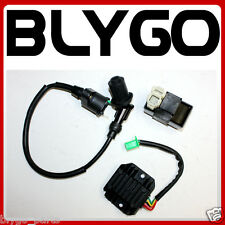 Ignition Coil + CDI UNIT+ Regulator GY6 125cc 150cc PIT Quad Dirt Bike ATV Buggy
