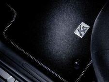 Genuine Ford Ka Car Mats in Premium Velour - Rear Set Silver Stitching (1558534)