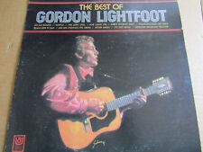 "BEST OF GORDON LIGHTFOOT, VINYL 12""  33 RPM LP UNITED ARTIST RECORDS UAS-6754"