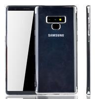 Samsung Galaxy Note 9 Funda Estuche Móvil Funda Protector Funda Protectora Plata
