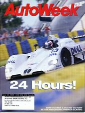 AutoWeek Magazine June 21, 1999 BMW, Porsche Carrera 2, Honda Accord EX