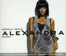 Broken Heels - Alexandra Burke (2010, CD Single NIEUW)