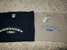 LOT OF 2 UNIVERSITY OF KENTUCKY MUSCLE TSHIRT NEW W/TAGS