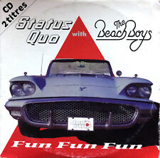 Status Quo With The Beach Boys CD Single Fun Fun Fun - France (G/G+)